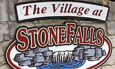Community Signage, The Village At Stone Falls, 2