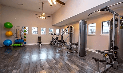 Fitness Weight Room, 3800 N Belt Line Rd, 2