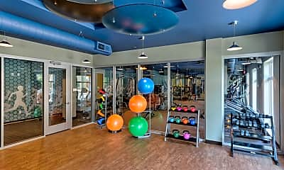 Fitness Weight Room, Aston City Springs, 2