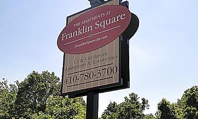Community Signage, Franklin Square, 0
