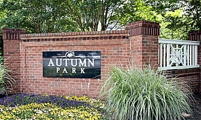 Community Signage, Autumn Park, 2
