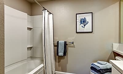 Bathroom, Gateway Station Apartments, 2