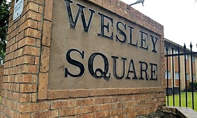 Wesley Square, 1