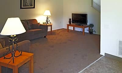 Living Room, Orchard Place Apartments, 1