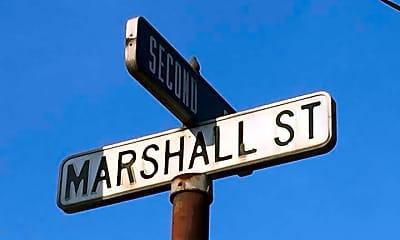 Community Signage, 100 Marshall St 507, 2