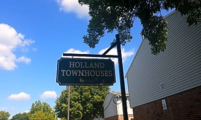 Holland Townhouses, 1