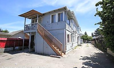 Building, 9701 D St, 2