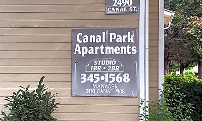 CANAL PARK, 1