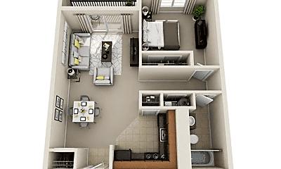 Living Room, 520 NE 20th St, 2