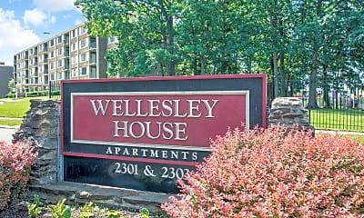 Community Signage, Wellesley House, 2