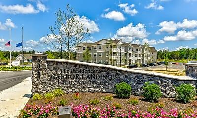 Community Signage, The Residences at Harbor Landing, 2