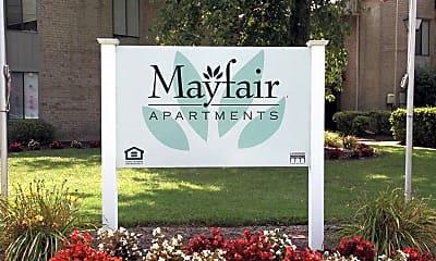 Community Signage, Mayfair, 2