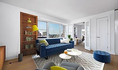 Living Room, 60 W 142nd St 14-D, 1