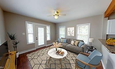 Living Room, 332 E French Pl, 0