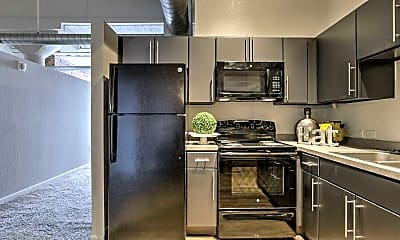 Kitchen, Park Lofts, 0