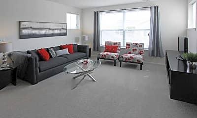 Living Room, The Kensington At Halfmoon, 1