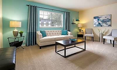 Living Room, Holly Hills Apartments, 0