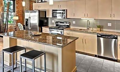 Kitchen, Joslyn Lofts, 2