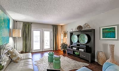 Living Room, Cypress Winds Apartment Homes, 1