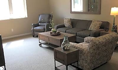Living Room, The Bells Senior Community, 1