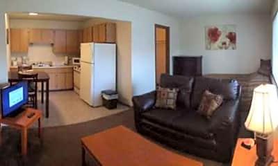 Living Room, Pawnee Park Apartments, 1