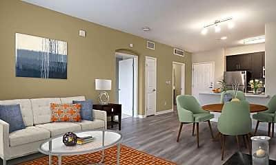 Living Room, Avalon Pasadena, 1