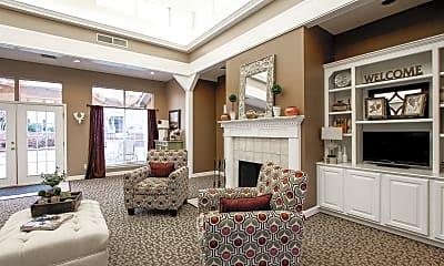 Living Room, Northridge Apartments, 1