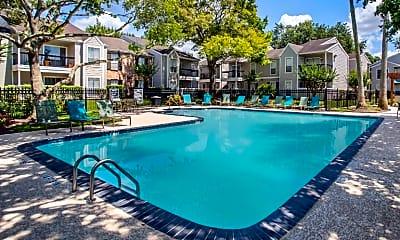 Pool, Silverado Apartments, 1