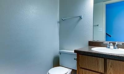 Bathroom, Wind Springs Apartments, 2