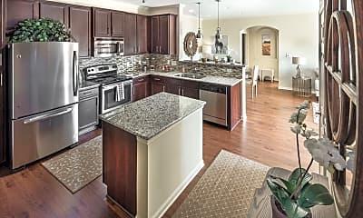 Kitchen, Claiborne Crossing Apartments, 1