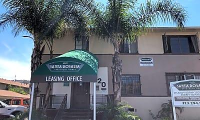 Santa Rosalia Apartments, 2