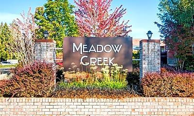 Courtyard, Meadow Creek, 1