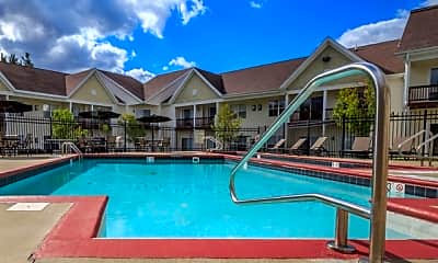 Pool, The Mansions at Delmar, 2