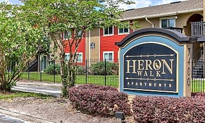 Community Signage, Heron Walk, 2