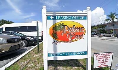 Community Signage, Palms East Apartments, 2