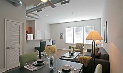 Dining Room, Southside Flats Apartments, 0