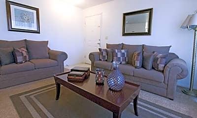 Living Room, Lakewood Terrace Apartments, 1