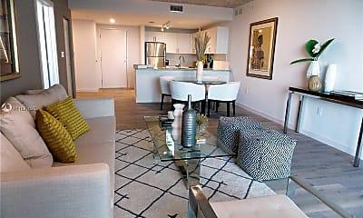 Living Room, 2165 Van Buren St 809, 0
