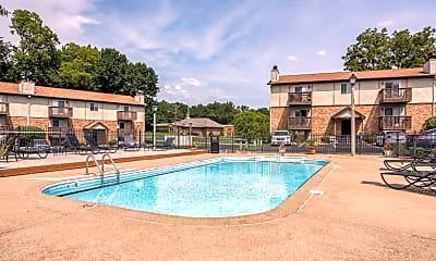 Pool, Lake Christine Village Apartments, 1
