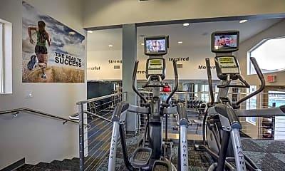 Fitness Weight Room, The Vista at Laguna, 2