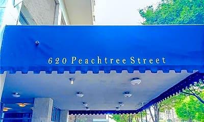 Patio / Deck, 620 Peachtree St NE 1512, 0