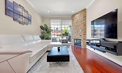 Living Room, 10740 Moorpark St 103, 0