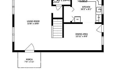 Building, 6840 Forest Terrace, 2