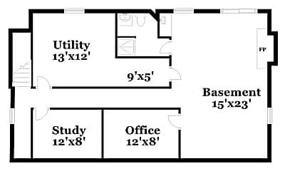 Building, 5500 Mosswood Ln, 1