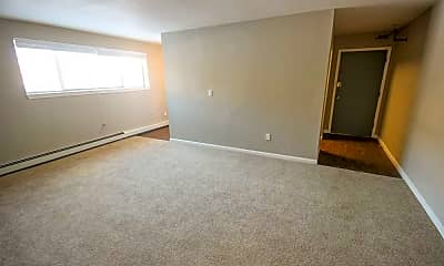 Living Room, Gramercy Park Apartments, 2