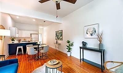 Living Room, 629 S Alexander St, 1
