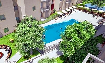 Pool, Topanga Ridge - Off Campus Housing, 1