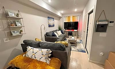 Living Room, 2110 Master St A, 0