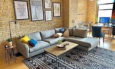 Living Room, 210 N 2nd St, 0