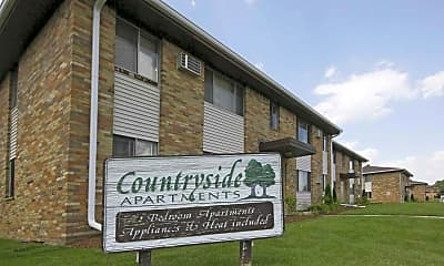 Community Signage, Countryside Apartments, 2
